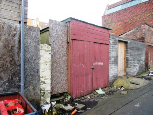 Garage rear of 13 Freemantle Road, Eastville