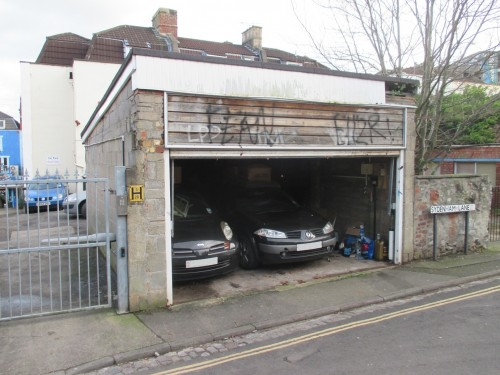 Garage rear of 133 Cheltenham Road, Cotham