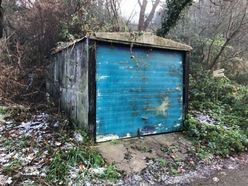 Garage off Dugar Walk, Redland