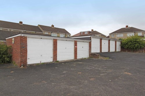Land & Garages at Brockhurst Gardens, Kingswood